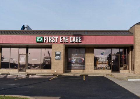 The outside of First Eye Care, Killeen Texas